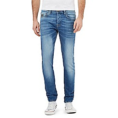 Voi - Blue mid wash skinny fit jeans