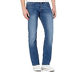 Voi - Blue mid wash slim fit jeans