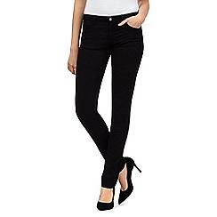 Wrangler - Corynn raw wash skinny mid waist jeans