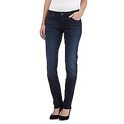 Wrangler - Drew mid wash slim leg jeans