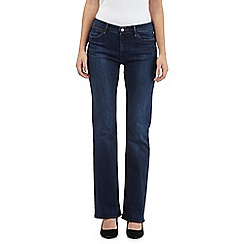 Wrangler - Tina dark wash regular bootcut high-waisted jeans
