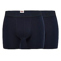 Levi's - Pack of two blue boxer briefs
