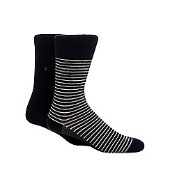 Levi's - Pack of two blue striped socks