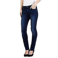 Wrangler - Mid wash skinny mid waist jeans