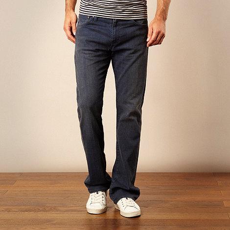 Levi+s - 527&#8482 dark blue bootcut jeans