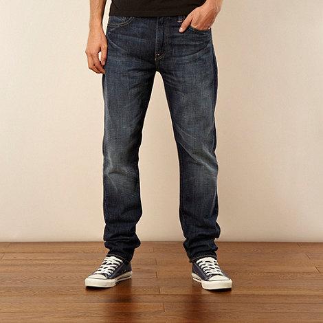Levi+s - 508&#8482 Quincy mid blue regular fit jeans
