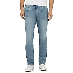 Levi's - Light blue '511 Java River' vintage wash regular fit jeans