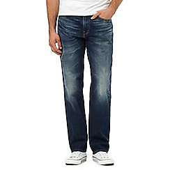 Levi's - Blue wash 541 straight fit jeans