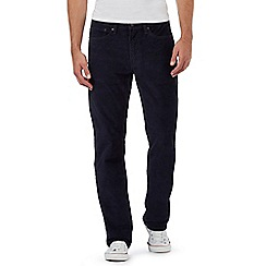 Levi's - Navy straight leg '514' corduroy trousers