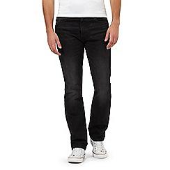 Levi's - Black 501 straight leg jeans
