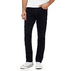 Levi's - Navy 501® relaxed fit jeans