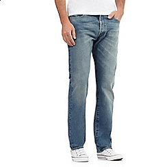 Levi's - Big and tall blue 501 original fit jeans