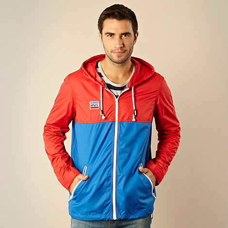 Levi+s - Red and blue lightweight jacket