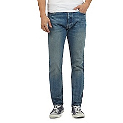 Levi's - Light blue 501® regular fit jeans