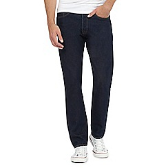 Levi's - 501® dark blue tapered stretch jeans