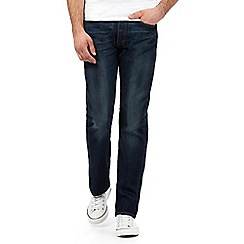 Levi's - Big and tall blue 501® straight leg jeans