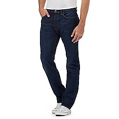 Levi's - Big and tall dark blue 501® straight leg jeans
