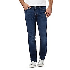 Levi's - Dark blue wash slim fit jeans