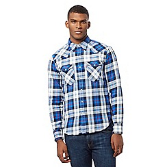 Levi's - Blue check print shirt
