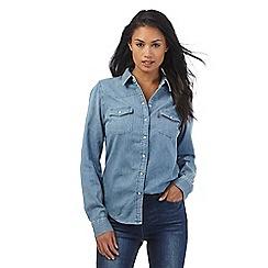 Levi's - Light blue western denim shirt
