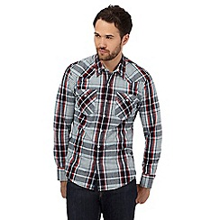 Levi's - Blue checked long sleeve shirt