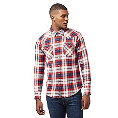 Levi's - Red check print shirt