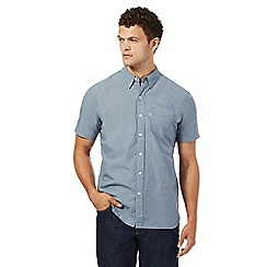 Levi's - Blue puppytooth regular fit shirt