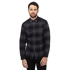 Levi's - Grey checked button down shirt