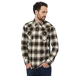 Levi's - Green checked regular fit shirt