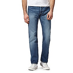 Levi's - Blue 501 'Collins' regular fit jeans