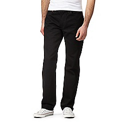 Levi's - Black 514 straight fit jeans