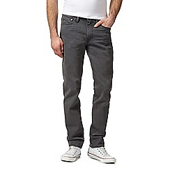 Levi's - Big and tall grey 'joplin' 511 slim jeans