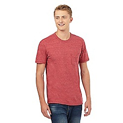 Levi's - Red space dye pocket t-shirt