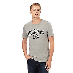 Levi's - Grey graphic printed t-shirt