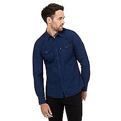 Levi's - Navy western shirt