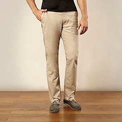 Lee - Beige straight leg chinos