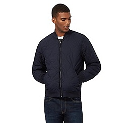 Levi's - Navy quilted bomber jacket