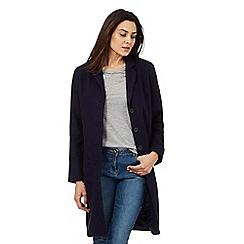Levi's - Navy long wool coat
