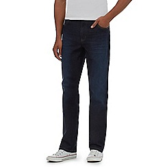 Wrangler - Dark blue 'Texas' relaxed fit jeans