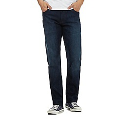Wrangler - Dark blue 'Texas Frisky Business' regular fit jeans