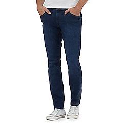 Wrangler - Blue 'Bostin' modern slim jeans