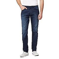 Wrangler - Dark blue mid wash slim fit jeans