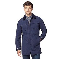 Wrangler - Navy 'rain ready' mac