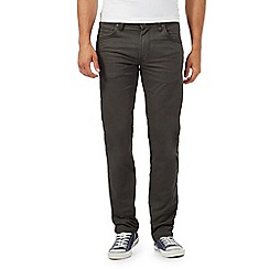 Lee - Khaki twill regular fit jeans