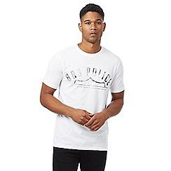 883 Police - White logo print t-shirt