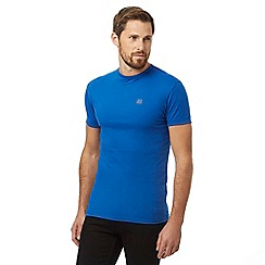 883 Police - Blue logo print t-shirt