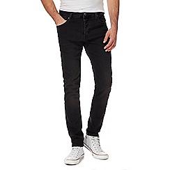 883 Police - Black slim fit jeans