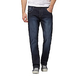 883 Police - Dark blue mid wash bootcut jeans