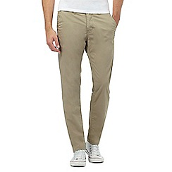 883 Police - Beige slim fit chinos