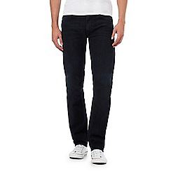 Lee - Dark blue Daren straight leg jeans